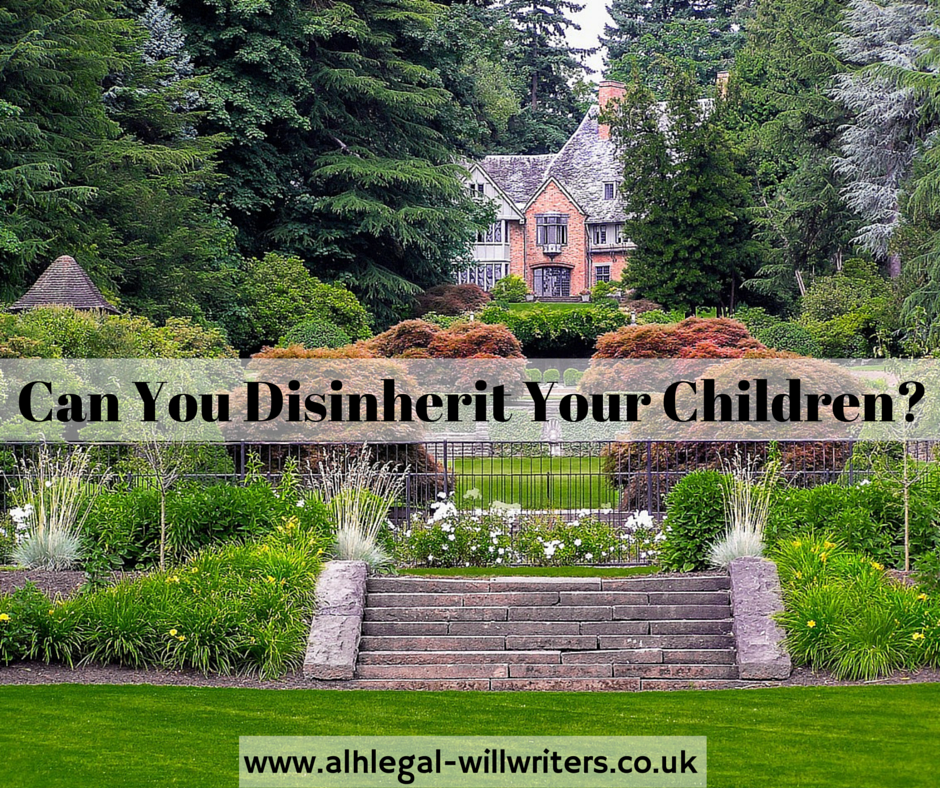 Can You Disinherit Your Children